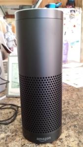 the amazon echo device